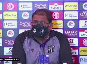 """CEARÁ: Guto reforça competitividade do time, mas avalia após empate na Sul-Americana: """"Não é todo dia que você está bem"""""""