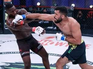 """José Augusto """"Gugu"""" revela lesão no ligamento e fala sobre knockdown aplicado em Anthony Johnson pelo Bellator lutando apenas com uma mão"""