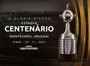 Conmebol anuncia final da Libertadores 2021 no Uruguai