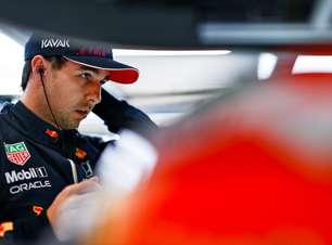 Pérez sofre com adaptação, fica longe de convencer e já entra na air fryer da Red Bull