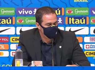 """SELEÇÃO OLÍMPICA: Jardine comenta a perda de jogadores pra Seleção Principal: """"a gente pensa o contrário, a gente ganha jogadores"""""""