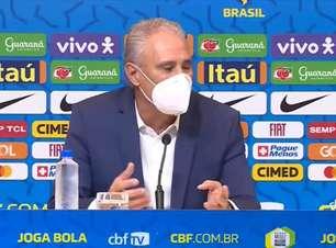 """SELEÇÃO: Tite fala sobre função de Neymar: """"vai jogar como tem jogado no Brasil e no PSG"""""""