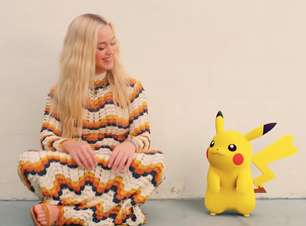 Katy Perry se junta a Pikachu em novo clipe