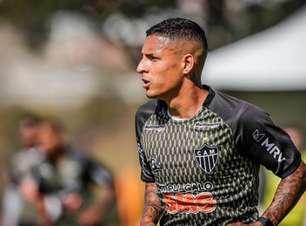 Guilherme Arana é chamado para a seleção olímpica e desfalcará o Galo em jogos do Brasileiro e C. do Brasil