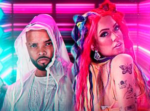 """Lara Silva e MC Zaac servem coreografia e visuais futuristas no clipe de """"Forma do Padrão"""""""