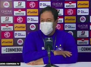 """BAHIA: Dado Cavalcanti analisa vitória diante do Guabirá, explica formação inicial e ressalta: """"criamos oportunidades de gols desde o primeiro tempo"""""""