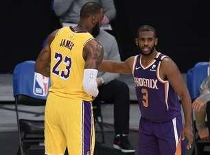 Playoffs 2021 - Phoenix Suns x Los Angeles Lakers