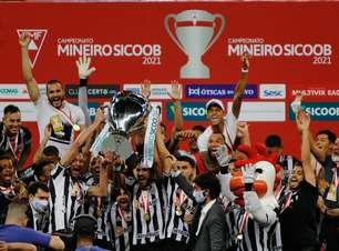 Atlético-MG empata e chega ao bicampeonato Mineiro