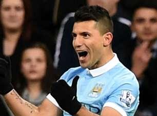 Sergio 'Kun' Aguero no Manchester City: gols, assistências, títulos e recordes