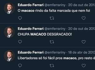 Grêmio exclui cônsul do clube após postagens racistas em rede social