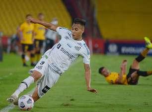 Santos perde para o Barcelona e se despede da Libertadores