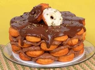 Bolo-donuts: um absurdo de sabor
