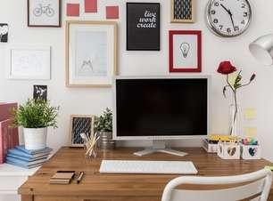 Aprenda a montar um escritório em casa gastando pouco