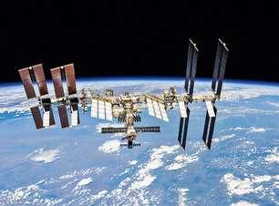 Estação Espacial levou um tiro, mas tudo bem, foi no braço