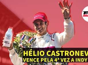 Em Dia: Castroneves vence pela quarta vez a Indy 500
