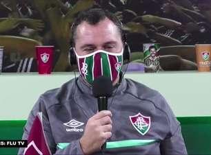 """FLUMINENSE: Mário Bittencourt garante 'honra à camisa' e 'respeito ao Cerro Porteño' ao comentar sorteio das oitavas de final da Libertadores: """"Será um duelo muito difícil"""""""