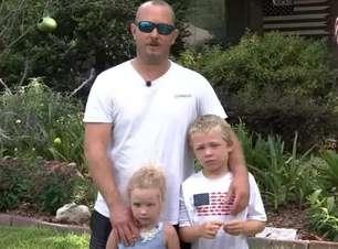 Menino de 7 anos salva pai e irmã após nadar buscando ajuda