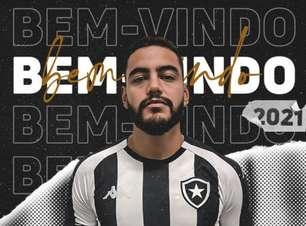 Botafogo anuncia a contratação de Barreto; clube tem opção de compra