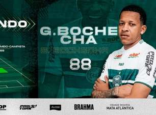 Gustavo Bochecha é o novo reforço do Coritiba