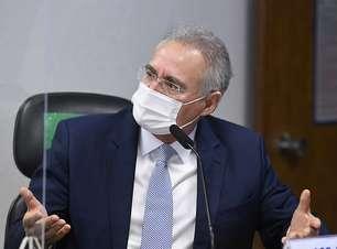 Renan: testemunhas serão colocadas como investigadas na CPI