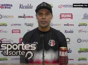 """SANTA CRUZ: Bolívar pede dedicação e paciência aos atletas para partida contra o Floresta e garante: """"Precisamos propor o nosso jogo do primeiro ao último minuto"""""""