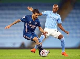 Veja os melhores momentos de Fernandinho com a camisa do Manchester City