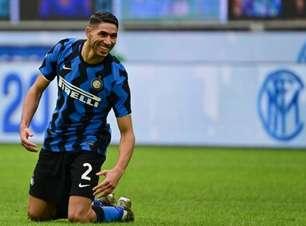PSG e Chelsea buscam contratação de Hakimi, da Inter de Milão