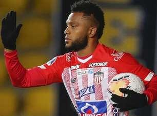 Palmeiras negocia venda de Miguel Borja ao Junior Barranquilla