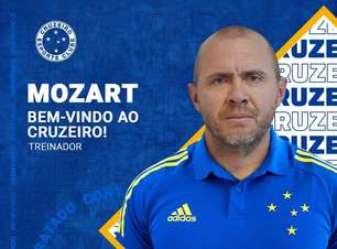 Após vexame, Cruzeiro anuncia Mozart como novo técnico