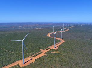 Enel inicia operação comercial de maior parque eólico da América do Sul