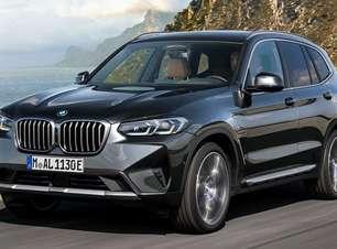 BMW X3 e X4 ganham novo visual e versão híbrida leve