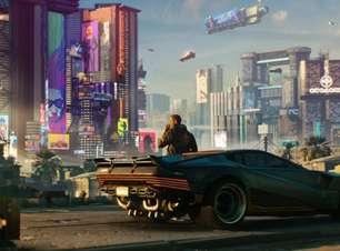 """Elon Musk joga Cyberpunk 2077 em carro da Tesla com """"desempenho de PS5"""""""