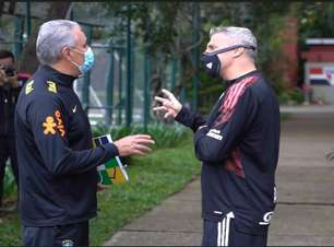 Primeiro treino da seleção para a Copa América conta com Gabigol e Thiago Silva