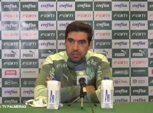 """PALMEIRAS: Abel Ferreira discorda que time sofreu na criação diante do Corinthians: """"neste tipo de jogo não se criam muitas oportunidades"""""""