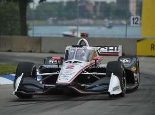 Newgarden garante a pole position para corrida 2 da Indy em Detroit