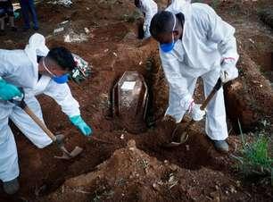 Brasil tem média móvel de 1.970 mortes diárias por covid-19