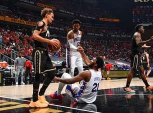 Trae Young lidera, Hawks vence 76ers e iguala série