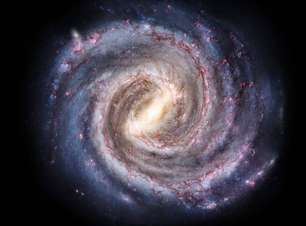 Matéria escura está freando rotação da barra galáctica da Via Láctea