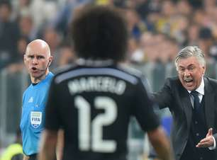 A primeira decisão de Ancelotti na volta ao Real Madrid: Marcelo fica?