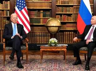 """Putin diz que encontro com Biden foi """"muito construtivo"""""""