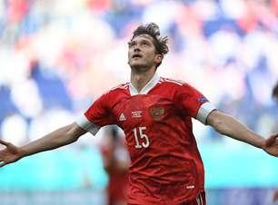 Rússia vence Finlândia e sonha com classificação na Eurocopa