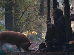 """Nicolas Cage vive chef que precisa resgatar porco de estimação em """"Pig"""""""