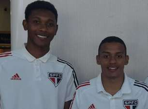 Dupla do São Paulo se apresenta à Seleção brasileira sub-17