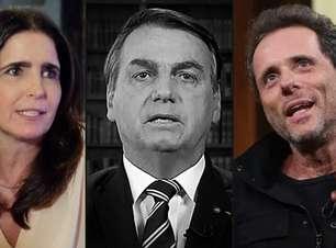 Malu Mader e Tony Bellotto se voltam contra governo Bolsonaro e fazem acusações