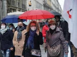 Itália estuda dispensar uso de máscaras ao ar livre em julho