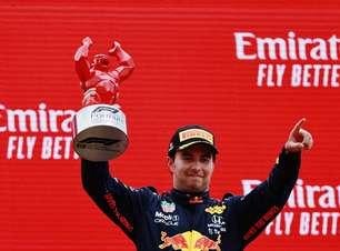 Estratégia e caça a Hamilton: como Pérez marcou 2º pódio seguido pela 1ª vez na F1