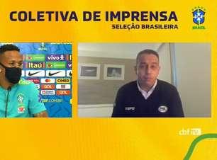 """SELEÇÃO: Militão fala sobre rivalidade sadia no Brasil: """"aqui todos são importantes"""""""
