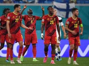 Bélgica domina, vence a Finlândia e termina a fase de grupos da Eurocopa com 100% de aproveitamento