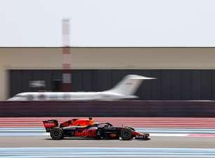 Verstappen diz que não esperava ter uma boa saída após o pit stop no GP da França de F1