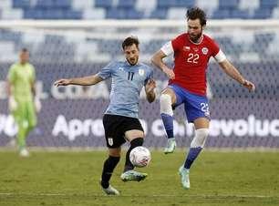 Com clima tenso, Uruguai e Chile empatam pela 3ª Rodada da Copa América